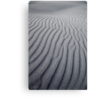 NEW ZEALAND:WAVES OF SAND Canvas Print