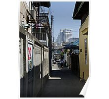 Narrow Lane Poster