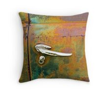Rust Art 2 Throw Pillow