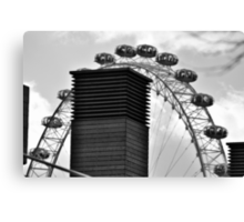 London, View of the Eye Canvas Print