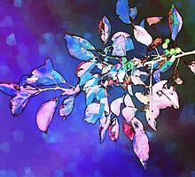 Violet Illumination by SRowe Art