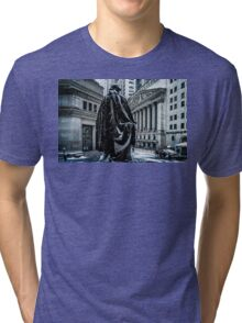 Another Cold Cold Day On Wall Street Tri-blend T-Shirt