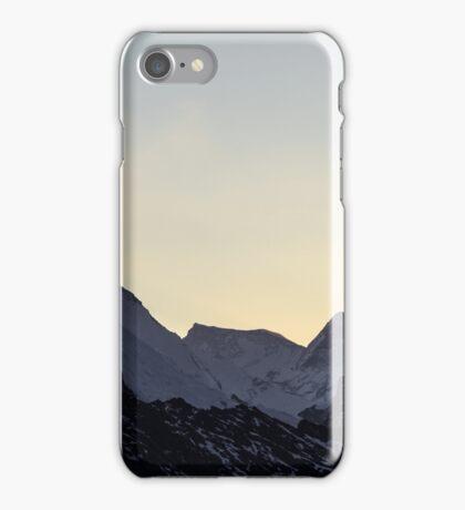 NEPAL:SUNRISE AT GOKYO RI iPhone Case/Skin