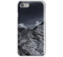 NEPAL:SMOKE IN THE MOUNTAINS iPhone Case/Skin
