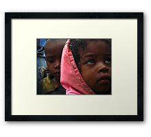 the children Framed Print