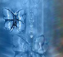 Blue Butterfly by Emma  Wertheim