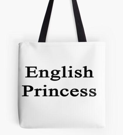 English Princess  Tote Bag