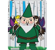Fairies Kissing Gnome iPad Case/Skin