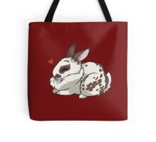 Left Bunny Tote Bag