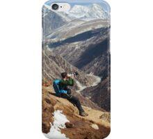 NEPAL:THE PHOTOGRAPHER iPhone Case/Skin