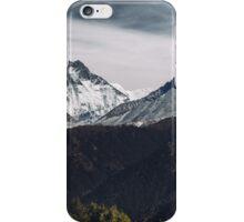 NEPAL:MT.EVEREST / LHOTSE / AMA DABLAM iPhone Case/Skin