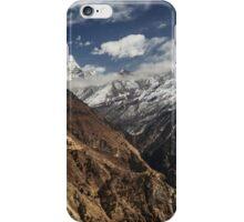NEPAL:PANORAMA OF PHORTSE / AMA DABLAM iPhone Case/Skin