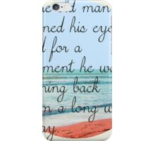 Old man iPhone Case/Skin