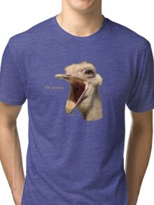 The scream Tri-blend T-Shirt