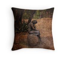 Grieving Throw Pillow