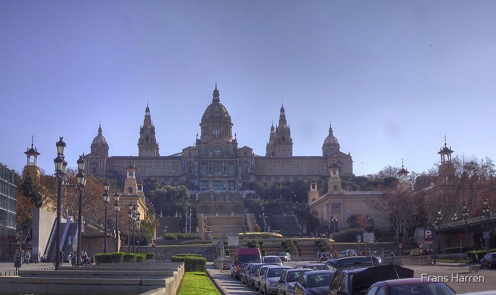 Panorama - Museu Nacional d'Art de Catalunya by Frans Harren