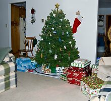 Santa Comes to the Harbaugh's by ericseyes