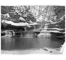Frozen Nature Series - Bitter Falls Poster
