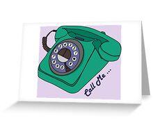 Call Me... Greeting Card