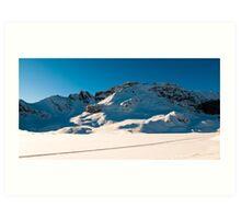 Panoramic scenery at Melchseefrut  Art Print