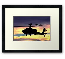 AugustaWestland Apache AH.1 Helicopters Framed Print