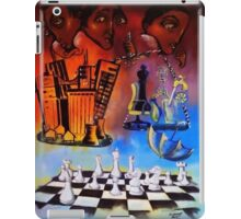 Checkmate! The Imbalance of Resources iPad Case/Skin
