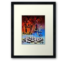 Checkmate! The Imbalance of Resources Framed Print