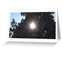 Blue Skies 002 Greeting Card