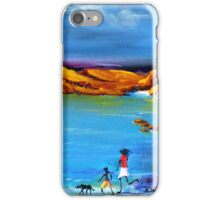 Fun Day Acrylic painting iPhone Case/Skin