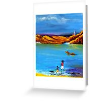 Fun Day Acrylic painting Greeting Card