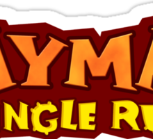 rayman portal jungle run Sticker