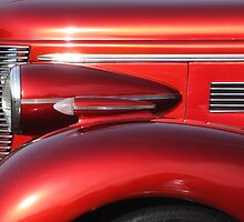 Buick Street Rod Front Profile, Lincoln City Car Show by trueblvr