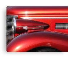 Buick Street Rod Front Profile, Lincoln City Car Show Canvas Print