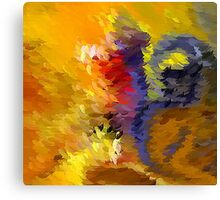 From The Painting Easel #8 Canvas Print