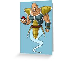 Nappa Greeting Card