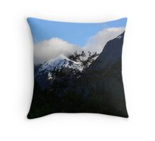 Milford Track Throw Pillow