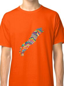 Psychedelic Cat Classic T-Shirt