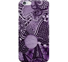 A Touch of Random in Purple iPhone Case/Skin