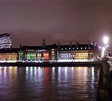 Panorama London by Arie van der Wijst