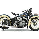 1936 Knucklehead by ezcat