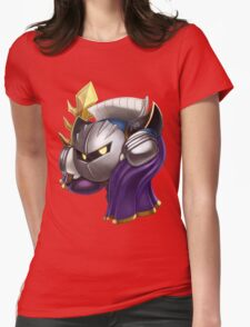 Meta Knight Womens Fitted T-Shirt