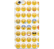 All Faces Emoji Collage iPhone Case/Skin