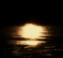 Moonlight and Sand Bars by DottieDees