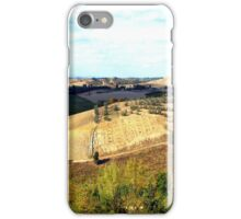 The Tuscan Hills From Certaldo...............................Italy iPhone Case/Skin
