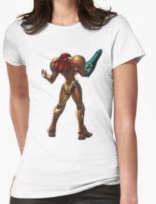 Samus Womens Fitted T-Shirt