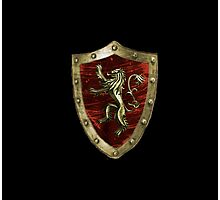 Lannister logo Photographic Print
