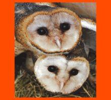 Cute baby barn owls  Kids Tee