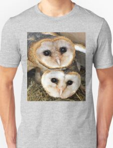 Cute baby barn owls  Unisex T-Shirt
