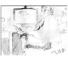 WORKING IN NUDE(C2014) by Paul Romanowski