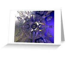 Symmetric Glass Greeting Card